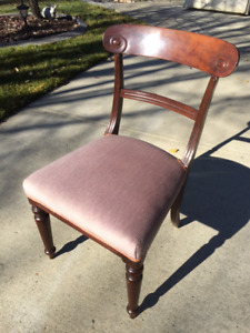 Antique Mahogany Side Chair