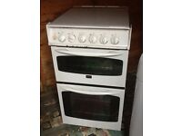 500mm wide electric oven ,gas hob