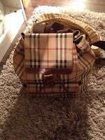 Authentic Burberry backpack.