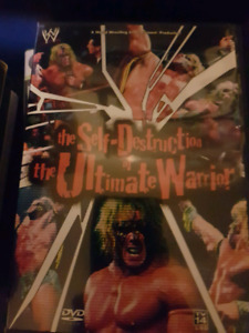 The Self-Destruction of The Ultimate Warrior DVD