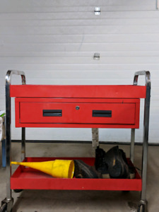Rolling cart toolbox