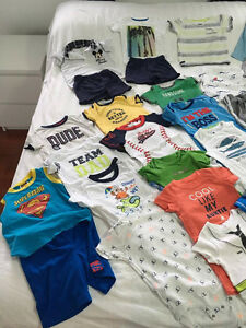 37pieces used BOYS SUMMER CLOTHES 18MONTHS EXCELLENT CONDITION Kitchener / Waterloo Kitchener Area image 8