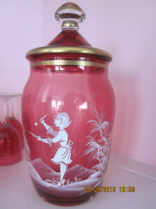 Antique Cranberry Glass Private Collection for Sale Kitchener / Waterloo Kitchener Area image 2