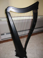 Dusty Strings Ravenna 26 String Harp with Shaping Levers