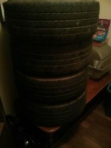 Tires for sale got some tread left