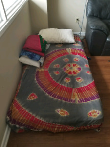 Double matress with Box Spring for sale