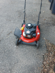Nearly new lawn mower