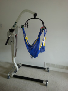 Hoyer Lift and Hospital Bed ($700 hoyer $300 bed)