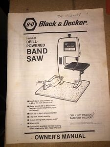 Band Saw - Black and Decker