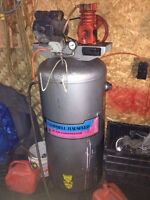 5hp Campbell and Hausfeld 60 gal compressor