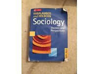 Haralambos and Holborn Sociology 5th Edition book