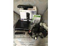 Xbox 360 black 250gb Kinect boxed