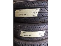 165/70/14 HIFLY 81T pair of 2 tyres