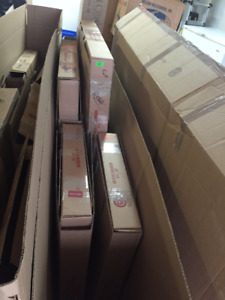 Moving Boxes - Picture and Mattress