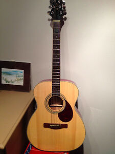 Samick Greg Bennett Acoustic Guitar (Worthington Series OM5) Kawartha Lakes Peterborough Area image 2