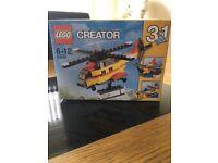 LEGO Creator Cargo Heli / Cargo Ship / Cargo Plane - BRAND NEW