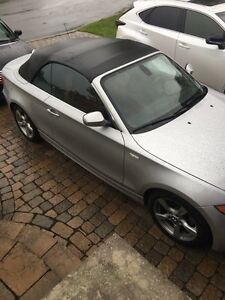 BMW 2012 128 Cabriolet.  Silver on red. BEST OFFER