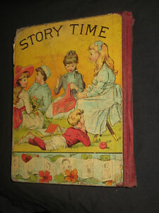 "Antique Book 1888 ""Story Time"" D. Lothrop & Company"