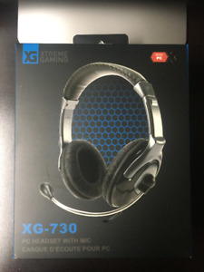 Xtreme Gaming XG-730 PC Headset With Mic - Brand New