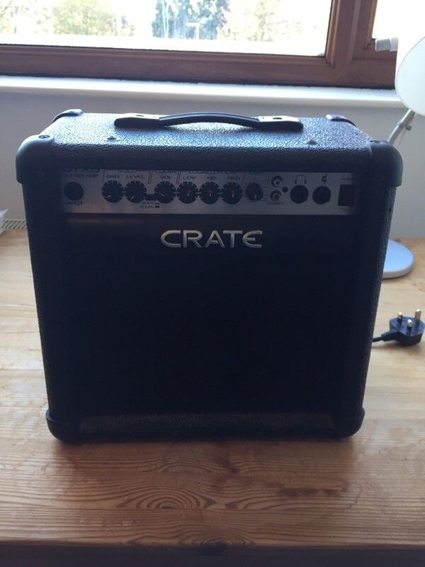 Crate GTX 15 modelling amp, Vox Stomplab and Essentials HP-1 Headphones