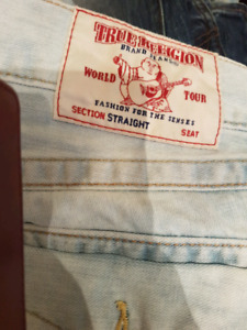 True Religion jeans for men s 32 and 34