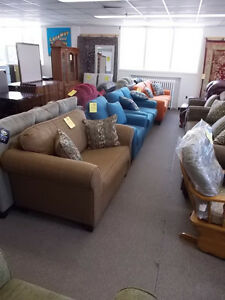 Large selection of sofas, chairs, sectionals.futons.