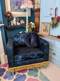 Bespoke armchair and cushion. GU2 guildford