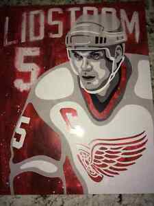 Nicklas Lidstrom Collectible Print