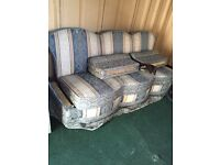 Bed settee and single bed