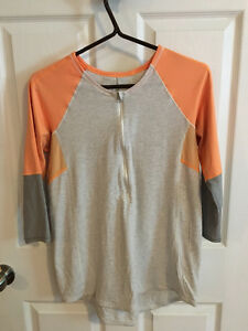 Lululemon 3/4 Sleeve 1/2 Zip Shirt