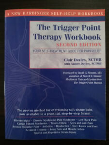 "Livre ""The Trigger Point Therapy Workbook"" de Clair Davies"