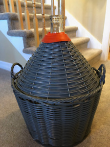 Wine/Beer Maker Enthusiasts – 15 Gallon Carboy w/ Case ($50 OBO)