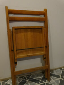 Wooden Vintage Chair from the 60s or earlier? Cornwall Ontario image 2