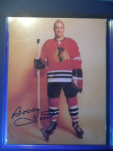 BOBBY HULL AUTOGRAPHED PHOTO