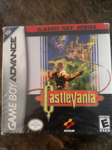 Nes classic castlevania factory sealed