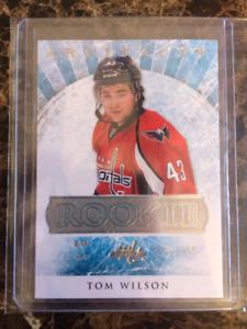 Carte de hockey Artifacts rookie Tom Wilson RED227