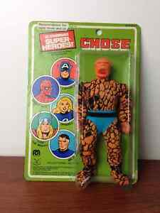 Vintage Mego 8 Inch Super Heroes The Thing - French Card