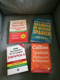 Job lot of French and Spanish books, VGC