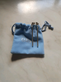 Silver Earrings From Oasis
