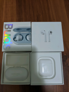 Almost new condition Airpod & Galaxy Buds Bargain salse