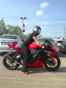 Like New Red 2012 Kawasaki Ninja