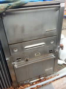 Garland Double Deck gas oven ; Used- $400