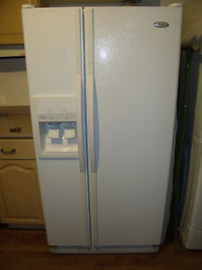 """33"""" side by side fridge"""