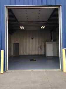 Industrial bay for lease