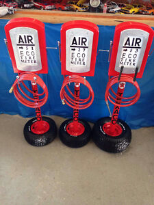 Old Fashion Air Pump Meter Replicas
