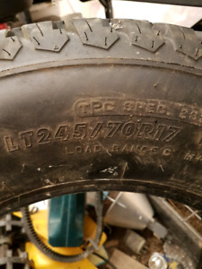 """17"""" 6 ply tires"""