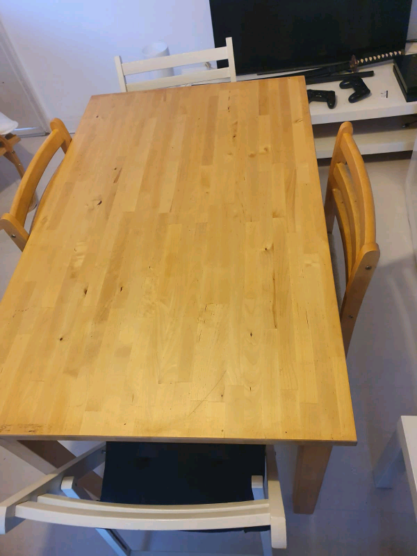 Wooden Ikea Table In South East London London Gumtree