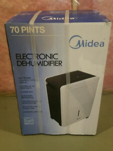 Dehumidifier- midea- 70-pint- Brand new in a box- never opened