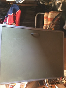 Ice box for trailer