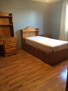 Room for rent near college utilities included